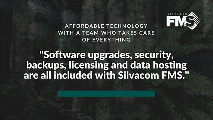 With Silvacom FMS, your data is managed in a modern, cloud-based solution. You never again have to pay upfront software licensing fees, invest in your own infrastructure, or hire specialized staff to build and maintain an expensive on-premises system.