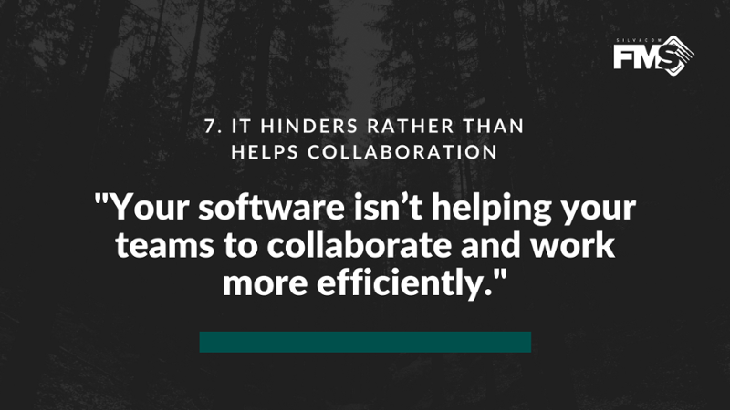 If your software isn't helping your teams collaborate, you could be operating much more productively with a forestry software geared towards collaboration and success.